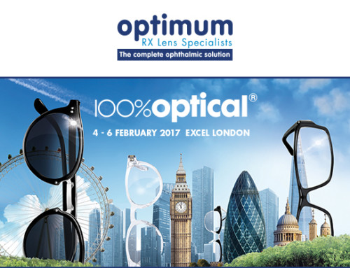 Optimum Rx Lens Specialists will be exhibiting at 100% Optical 2017, Stand L01