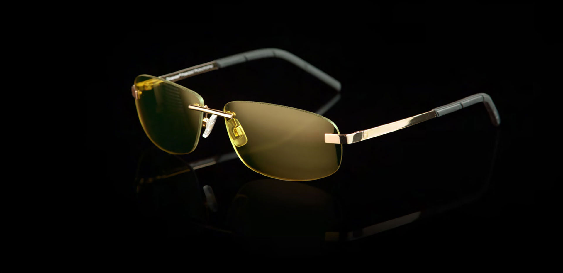 Drivewear DW5A Gun / Gloss Green - Steel Rimless