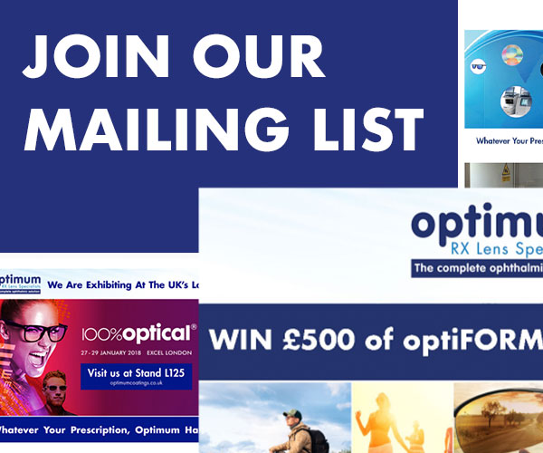 Optimum RX Lens Specialists Mailing List