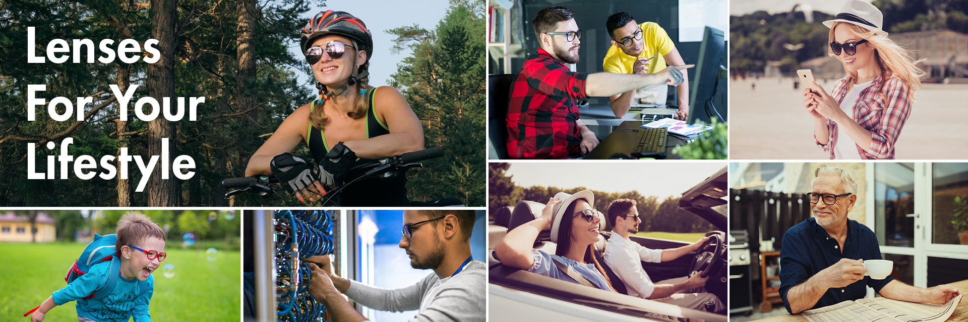 Lenses For Your Lifestyle - - Optimum RX Lens Specialists