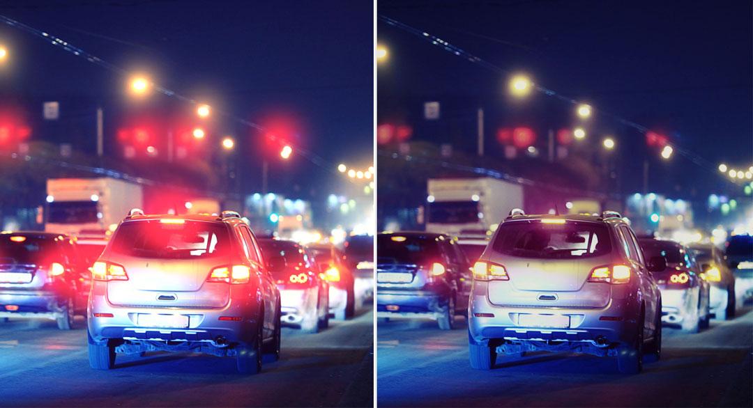 Optimum Anti-Reflection Lens Coating - reducing glare