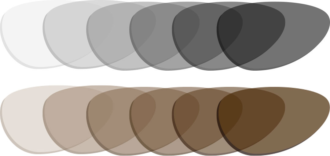 optiCHROMIC-D28-Bifocal-1.67-Photchromic-in-Grey-and-Brown - Optimum RX Lens Specialists