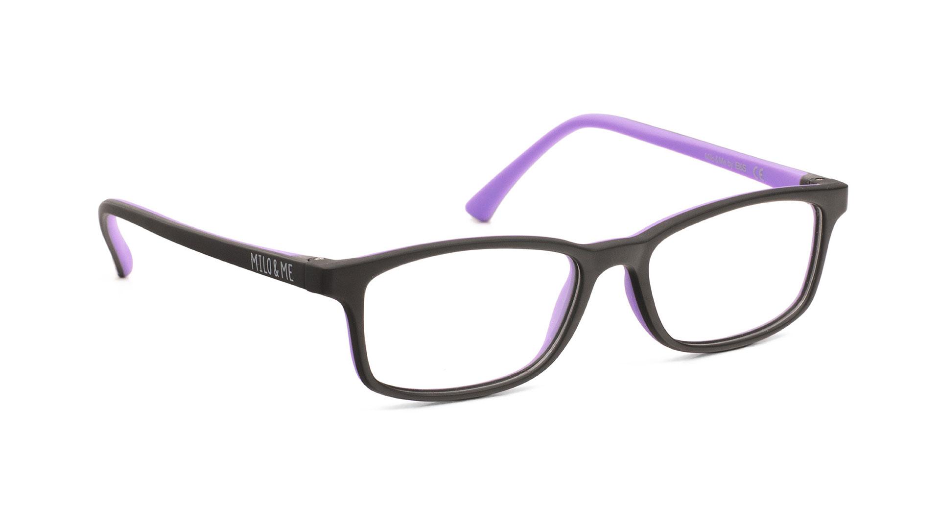 Black Light Lilac H85031-15 - Milo & Me Eyewear - Optimum RX Lens Specialists