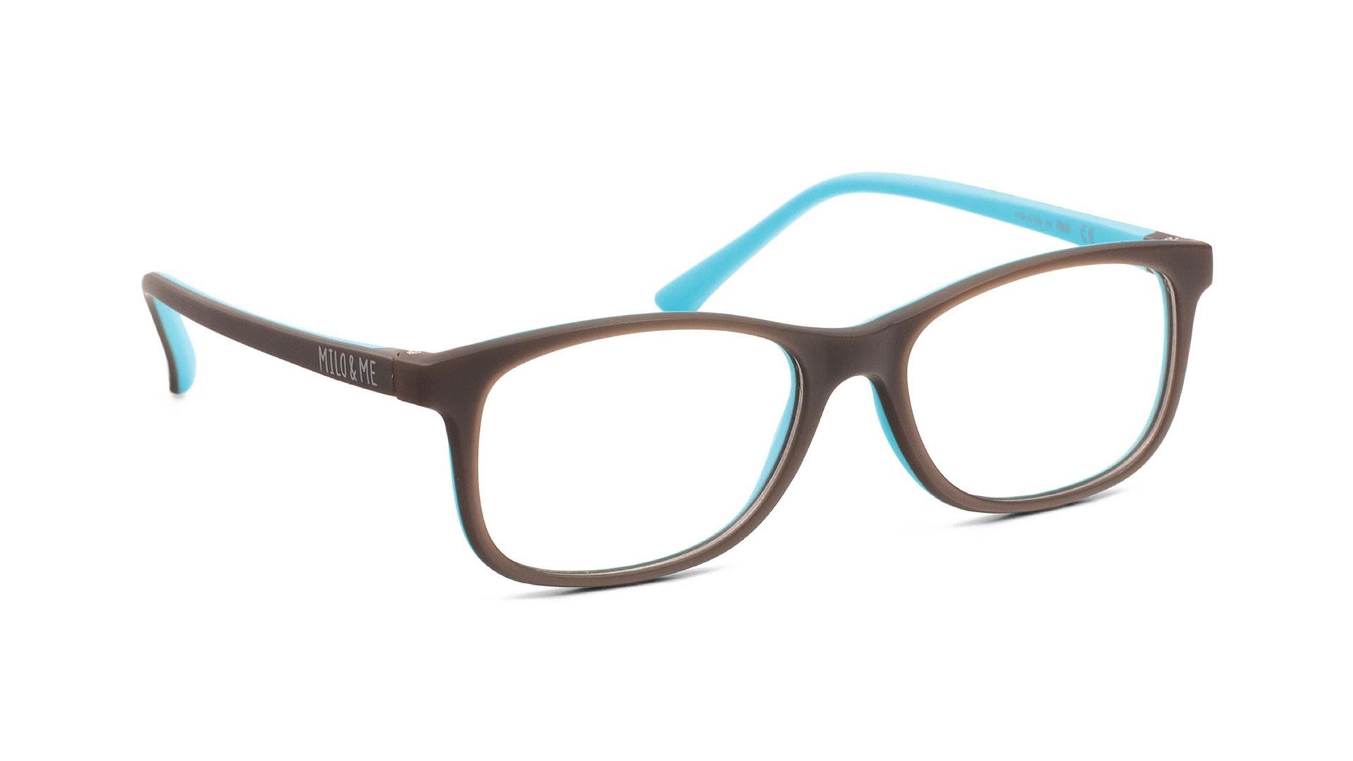 Brown Light Turquoise H85041-24 - Milo & Me Eyewear - Optimum RX Lens Specialists