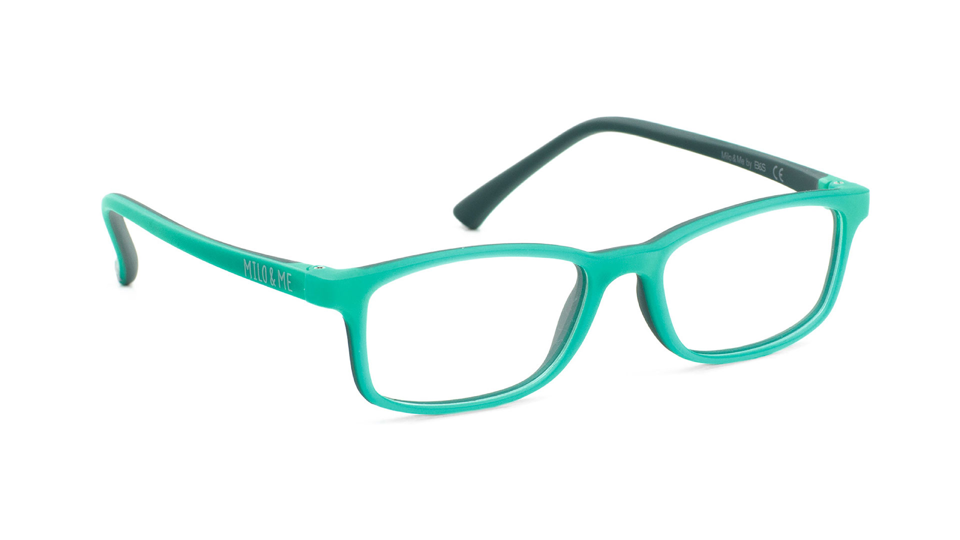 Light Green Dark Green - Milo & Me Eyewear - Optimum RX Lens Specialists