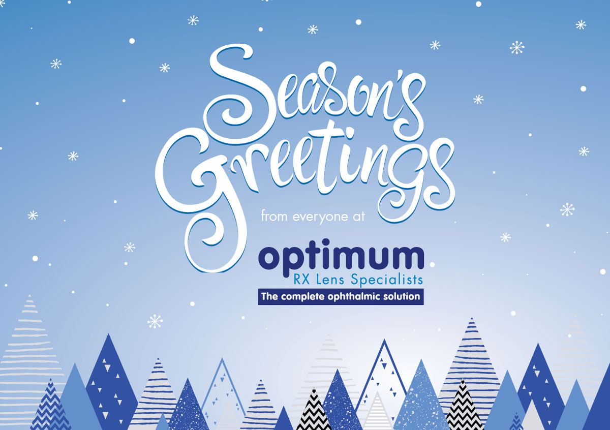 Seasons Greetings From Optimum RX Lens Specialists