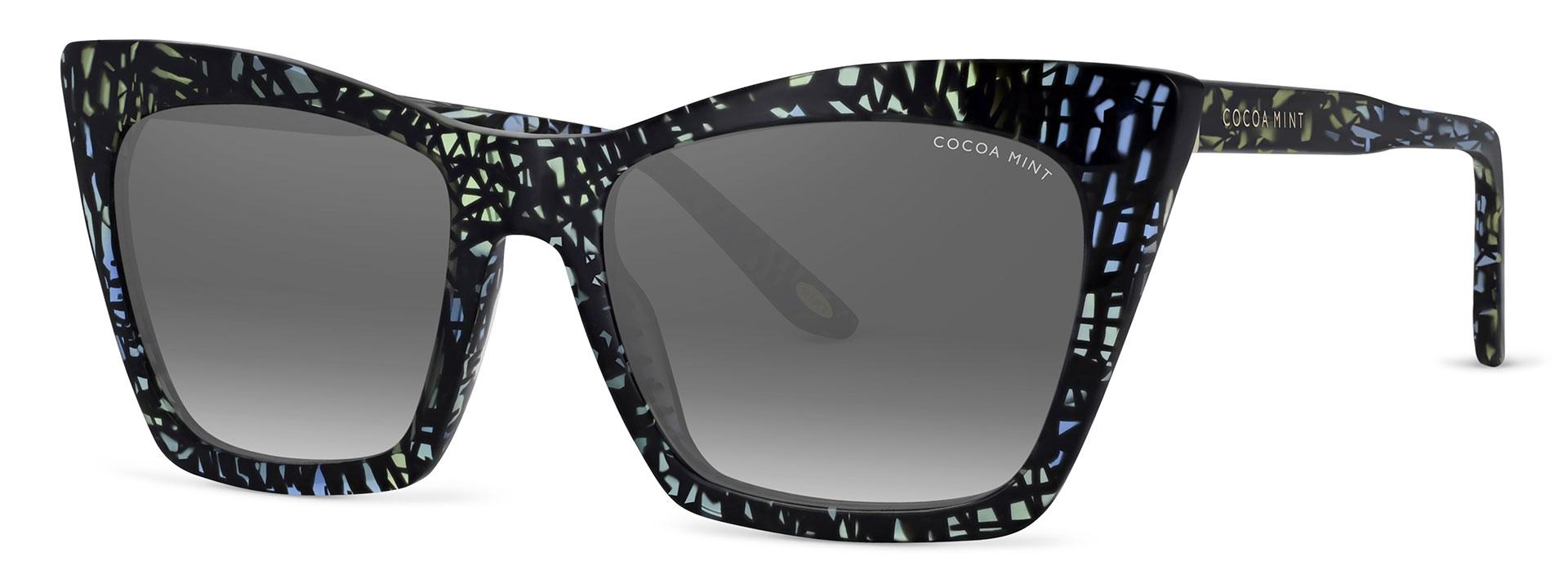Cocoa Mint Sun Glasses - Black - CMS2073-C1
