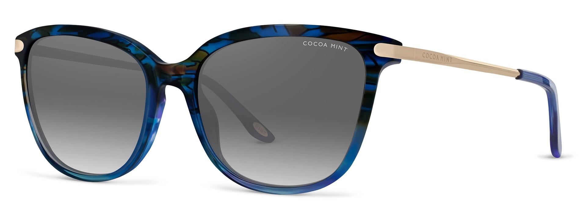 Cocoa Mint Sun Glasses - Blue - CMS2070-C1
