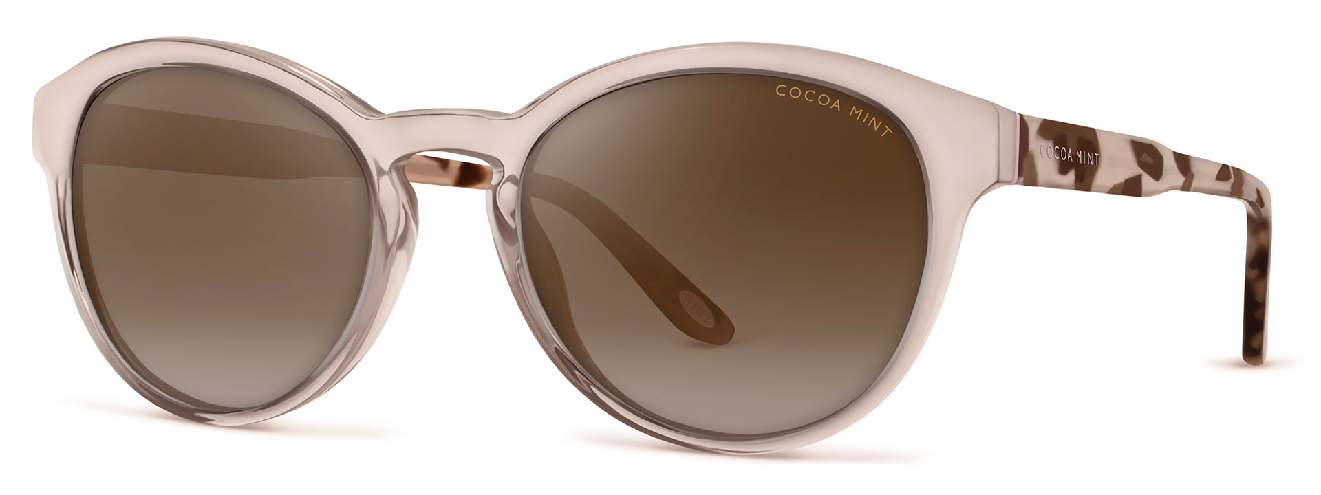 Cocoa Mint Sun Glasses - Blush Crystal - Tortoiseshell - CMS2062-C1