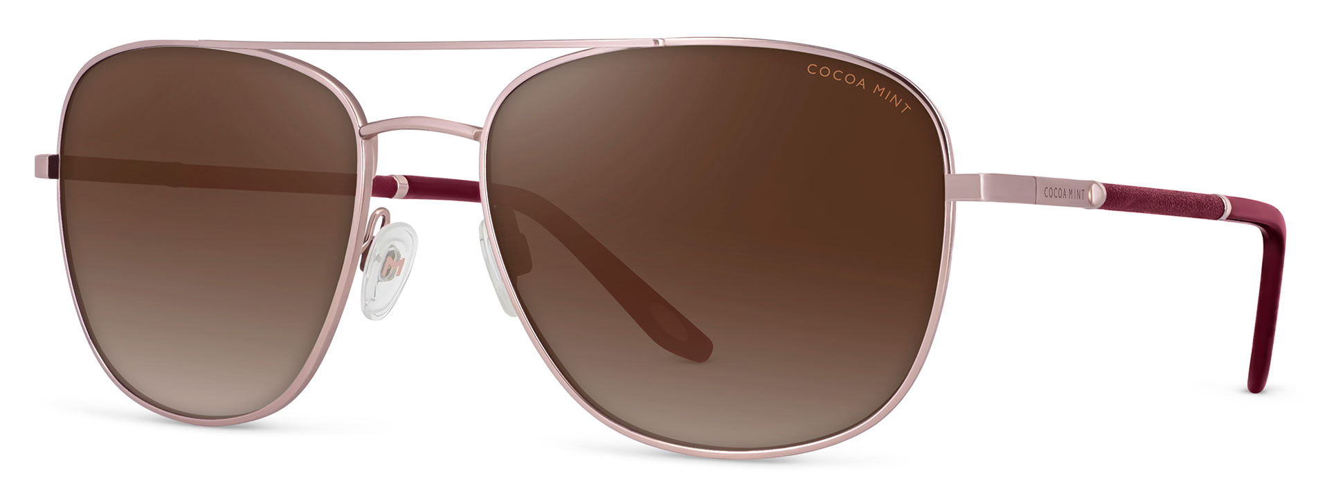 Cocoa Mint Sun Glasses - C1 Rose Gold - CMS2565-C1
