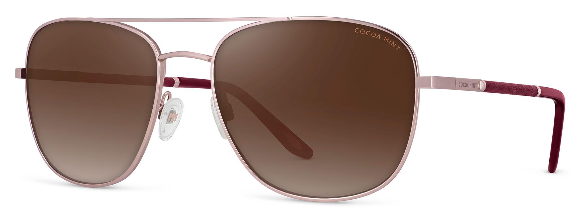 Cocoa Mint Sun Glasses - C1 Rose Gold - CMS2565-C1