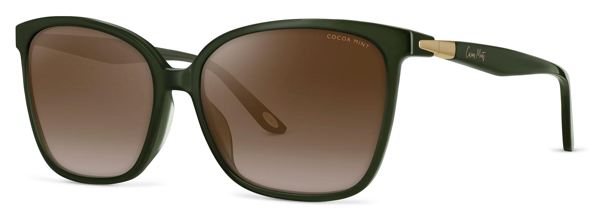 Cocoa Mint Sun Glasses - Olive - CMS2069-C1