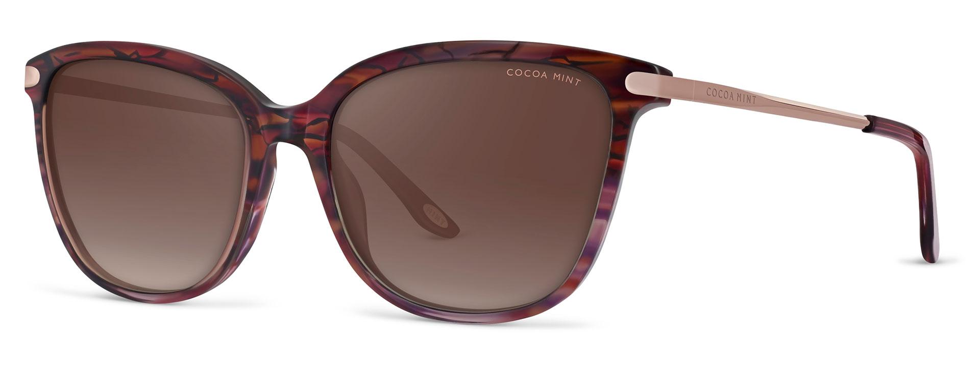 Cocoa Mint Sun Glasses - Red - CMS2070-C2