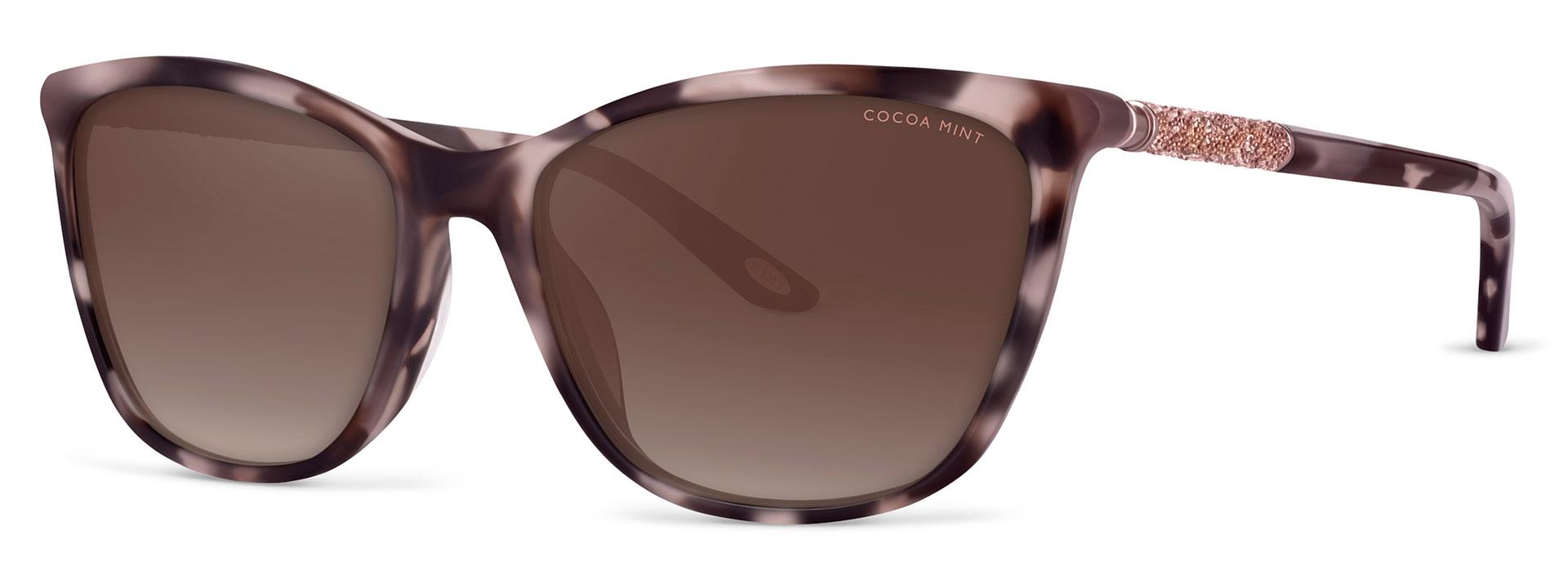 Cocoa Mint Sun Glasses - Rose Tortoiseshell - CMS2066-C1