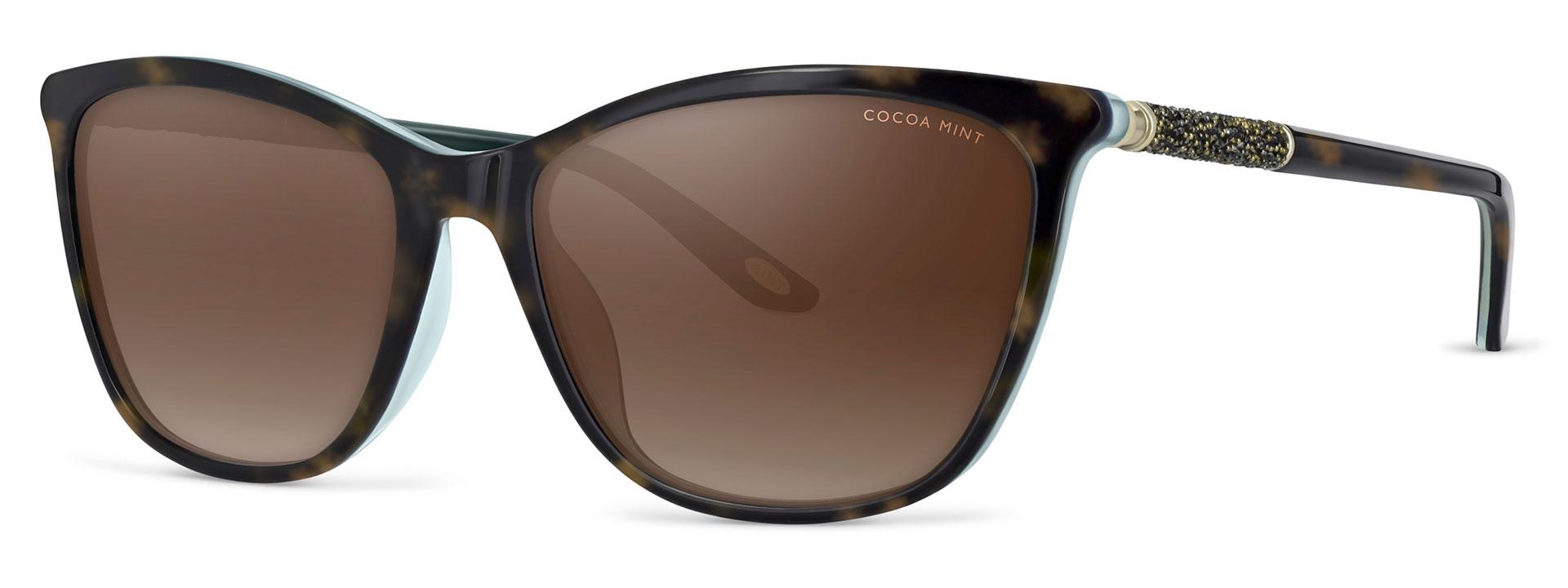 Cocoa Mint Sun Glasses - Tortoiseshell - CMS2066-C2