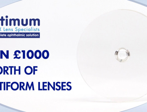 Win £1000 of optiFORM Lenses