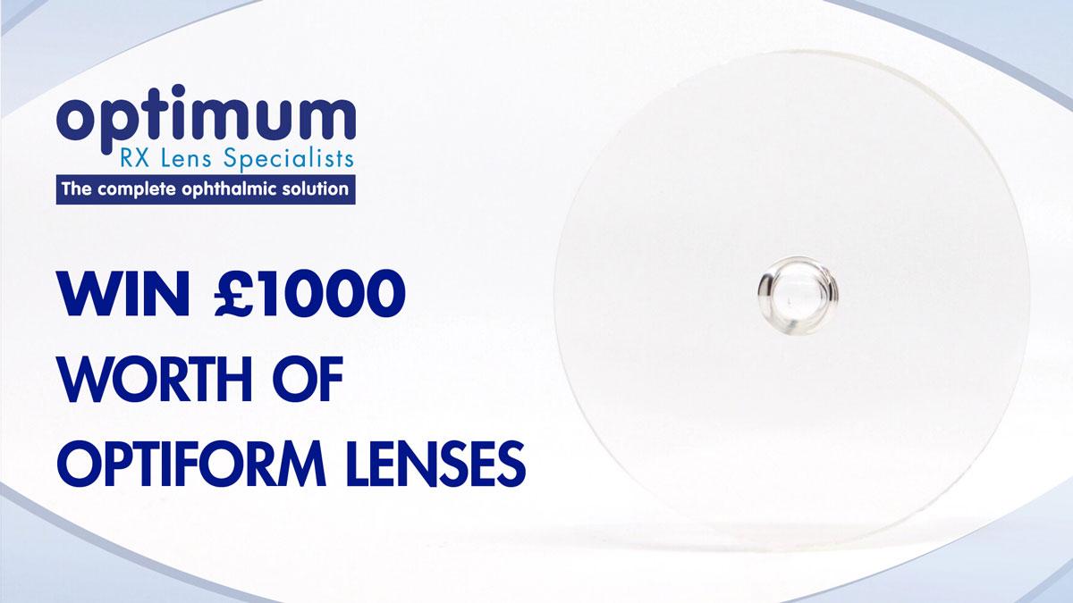 Win £1000 of optiFORM Lenses