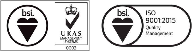 BSI accreditation Optimum RX Lens Specialists