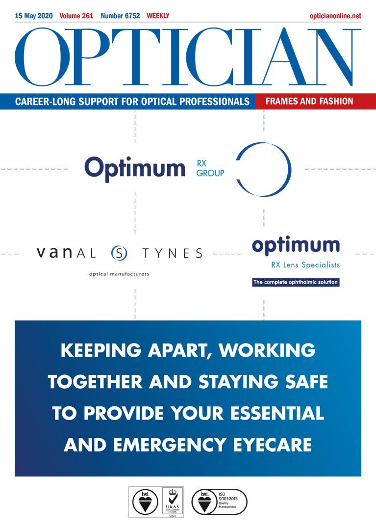 Optician Magazine Optimum Rx Lens Specialists